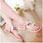 รองเท้าแตะส้นแบนไซส์ใหญ่ Gem Ornament รุ่น KR0240 thumbnail 6