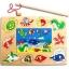 ของเล่นไม้ ชุดตกปลา จิ๊กซอ Magnetic fishing puzzle board thumbnail 2