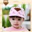 หมวกแก๊ป หมวกเด็กแบบมีปีกด้านหน้า ลายหมีสกรีนสามเหลี่ยม (มี 4 สี) thumbnail 10