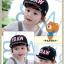 หมวกแก๊ป หมวกเด็กแบบมีปีกด้านหน้า ลาย P.DAW (มี 4 สี) thumbnail 3