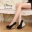 รองเท้าส้นเตารีดไซส์ใหญ่ 40-44 Glam Up รุ่น KR0506 thumbnail 7