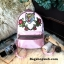 ALDO Grawn Satin Backpack with Tiger & Rose Patches thumbnail 3