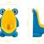 โถฉี่กบ เด็กชายหัดปัสสาวะ ติดผนัง-วางพื้นได้ รูปกบ/นก (มีกังหันน้ำ) thumbnail 12