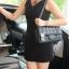 กระเป๋า KEEP classic chain shoulder bag กระเป๋าทรงสวย ผลิตจากหนังแกะ ผิวสัมผัสคล้ายหนังแท้ นิ่มมากๆ คะ thumbnail 1