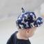 หมวกแก๊ป หมวกเด็กแบบมีปีกด้านหน้า ลายแมวเหมียว (มี 3 สี) thumbnail 4