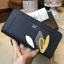 NEW! LYN Long Wallet กระเป๋าสตางค์ใบยาวซิปรอบรุ่นใหม่ล่าสุดวัสดุหนัง Saffiano สวยหรูสไตล์ PRADA ด้านหน้าประดับลายใบไม้ดูมีดีเทล thumbnail 17