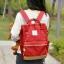กระเป๋าเป้ ANELLO X PAGEBOY- LOCAL BRAND วัสดุ Polyester canvas สลับหนังกลับ ปากกระเป๋าเปิดปิดด้วยซิปคู่ thumbnail 12