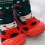 รองเท้าถุงเท้าพื้นยางหัดเดิน ลายเต่าทอง size 19-23 thumbnail 6