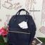 กระเป๋าเป้ Anello polyurethane Mini Navy Blue thumbnail 1