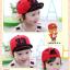 หมวกแก๊ป หมวกเด็กแบบมีปีกด้านหน้า ลาย 33 (มี 5 สี) thumbnail 2