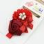 ผ้าคาดผมเจ้าหญิงแสนน่ารัก กลุ่มดอกไม้ติดเกสรไข่มุก ประดับโบว์เลื่อม งานระดับพรีเมี่ยม thumbnail 3