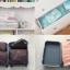 ชุดจัดกระเป๋าเดินทาง 5 ใบ จัดกระเป๋าเดินทาง ประหยัดเนื้อที่ มีสไตล์ กันน้ำ เลือก 4 สี สีชมพู, ฟ้า, เทา, แดง thumbnail 39
