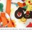 ชุดหมีเด็ก จั๊มสูทแขนยาวขายาว Cuddle me ลายยีราฟสีส้ม สำหรับเด็ก 6-18 เดือน thumbnail 3