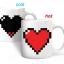 แก้วน้ำหัวใจพิกเซล PIXEL HEART <พร้อมส่ง> thumbnail 1