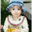 HT167••หมวกเด็ก•• / หมวกถังยีนส์ดอกกุหลาบ (มี 2 สี) thumbnail 3