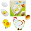 ของเล่นไม้ จิ๊กซอวงจรชีวิตของไก่ เพื่อการศึกษาเรียนรู้ธรรมชาติ+ต่อจิ๊กซอฝึกสมอง thumbnail 3
