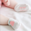 SK017••ถุงเท้าเด็ก•• ลูกแพร์ (สีชมพู-ข้อสั้น) thumbnail 5