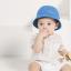 หมวกเด็กปีกกว้าง หมวกซันเดย์ ลายสับปะรด (มี 2 สี) thumbnail 6
