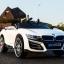 รถแบตเตอรี่เด็ก BMW I8 สีขาว 2 มอเตอร์เปิดประตูได้ มีรีโมท หรือบังคับเองได้ thumbnail 5