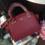 LYN Madison Bag สีแดง กระเป๋าถือหรือสะพายทรงสวย รุ่นใหม่ล่าสุด วัสดุหนัง Saffiano thumbnail 1