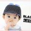 HT335••หมวกเด็ก•• / หมวกแก็ป baby mouse (สีดำ) thumbnail 2