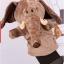 ตุ๊กตาหุ่นมือช้าง หัวใหญ่ ขนนุ่มนิ่ม สวมขยับปากได้ thumbnail 1