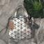 กระเป๋า David Jones Tote ตัวกระเป๋าเย็บติดด้วยแผ่นอคิลิค สีเงิน ราคา 1,590 บาท Free Ems thumbnail 4