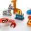 โมเดลพับกระดาษ Joan Miro' 3D Paper Model - สัตว์ป่า/สัตว์ทะเล/ชุดครัว thumbnail 5