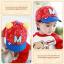 หมวกแก๊ป หมวกเด็กแบบมีปีกด้านหน้า ลาย M-มิกกี้ (มี 4 สี) thumbnail 4