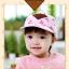 หมวกแก๊ป หมวกเด็กแบบมีปีกด้านหน้า ลายหมีสกรีนสามเหลี่ยม (มี 4 สี) thumbnail 11