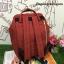 กระเป๋าเป้ ANELLO POLYESTER CANVAS RUCKSACK สี Dark Orange รุ่นคลาสสิค thumbnail 4
