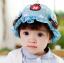 หมวกเด็กปีกกว้าง หมวกซันเดย์ ประดับปอยผม ลายกระต่ายน้อย (มี 3 สี) thumbnail 7