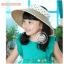 HT040••หมวกเด็ก•• / หมวกปีกกว้างสีกาแฟ thumbnail 3