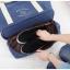 กระเป๋าสะพายผ้าแคสวาส เสียบกระเป๋าเดินทางได้ มีช่องใส่สองชั้นบน-ล่าง กระเป๋าเล็กแยก เหมาะมากสำหรับเดินทาง ท่องเที่ยว มี 9 สีให้เลือก thumbnail 22