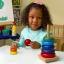 ของเล่นไม้ เรียงห่วงสวมหลัก Rainbow Stacker ขนาดสูง 21 ซม. thumbnail 6