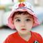HT489••หมวกเด็ก•• / หมวกปีกกว้าง-Rabbit (สีแดง) thumbnail 1
