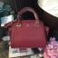 LYN Madison Bag สีแดง กระเป๋าถือหรือสะพายทรงสวย รุ่นใหม่ล่าสุด วัสดุหนัง Saffiano thumbnail 4