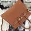 กระเป๋าหนังแท้สไตล์ยอดฮิตมี 2 ขนาด ทรงยอดฮิต หนังวัวแท้ย้อมสีเเนียนเรียบทั้งผืน (Genuine leather100%) thumbnail 11