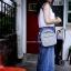 Anello Denim& nylon mini shoulder bag thumbnail 3