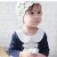 ชุดเดรสเด็กหญิง Augelute คอบัวแขนยาวตุ๊กตา สวยหรู (วัย 3-24 เดือน) thumbnail 7