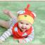 AP213••เซตหมวก+ผ้ากันเปื้อน•• / Dog [สีแดง] thumbnail 3