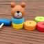 ตุ๊กตาค้อนตอกหมีไม้ ของเล่นทาวเวอร์สีรุ้ง thumbnail 6