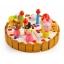 ของเล่นไม้ เซตตกแต่งหน้าเค้ก Wooden Decoration Cake Set by Mother Garden thumbnail 1