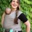 ผ้าอุ้มทารก เป้ผ้าอุ้มเด็ก Moby Wrap เบาสบาย กระจายน้ำหนัก thumbnail 9