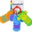 ของเล่นพวงกุญแจพลาสติกกัดเล่น Garanimals Click Clack Keys thumbnail 3