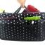 กระเป๋าจัดระเบียบ ลายใหม่ คุณภาพดียิ่งขึ้น จัดระเบียบกระเป๋าถือ หิ้วพกพาได้ มี 6 สี 6 ลาย ให้เลือก Bag in Bag -Organizer Bag thumbnail 8