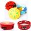 แทมบูรินไม้เคาะจังหวะสำหรับเด็ก การ์ตูนคละลาย - Tambourine musical educational toy thumbnail 4