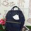 กระเป๋าเป้ Anello polyurethane leather rucksack รุ่น Mini/Classic อีกรุ่นที่กำลังเป็นที่นิยมกันในหมู่วัยรุ่นของประเทศญี่ปุ่นมาแล้วคร้า... ภายในมีช่องเล็ก2ช่อง เปิดปิดด้วยซิปคู่ ปากกระเป๋าเป็นโครงสัดวกต่อการหยิบจับ ด้านข้างมีช่องทั้ง2 thumbnail 7