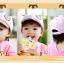 หมวกแก๊ป หมวกเด็กแบบมีปีกด้านหน้า ลายหมีน้อย (มี 4 สี) thumbnail 17