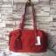กระเป๋า MANGO NYLON HANDBAG สีแดง กระเป๋าผ้าไนล่อนเนื้อดีและหนา ทรงหมอน มาพร้อมสายสะพายยาว thumbnail 1